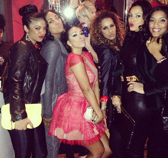 LA Clipper Wives Party Together + Draya, Jackie Christie & More BBall
