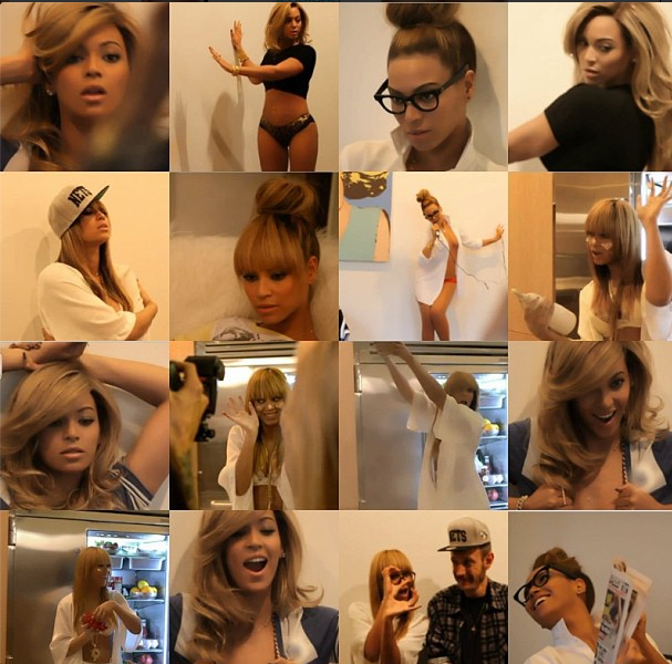 [Watch] Beyonce Shoots Home Alone for GQ Shoot