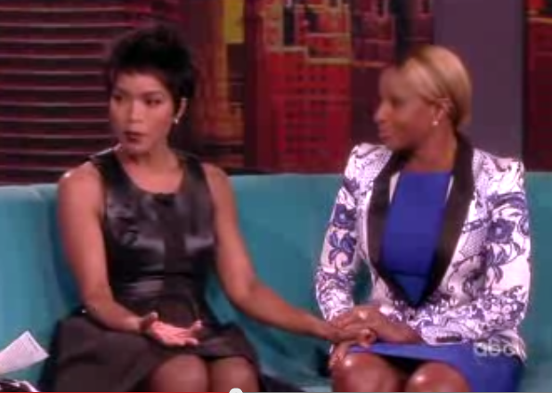 Mary J. Blige & Angela Bassett Talk 'Betty & Coretta' On 'The View'