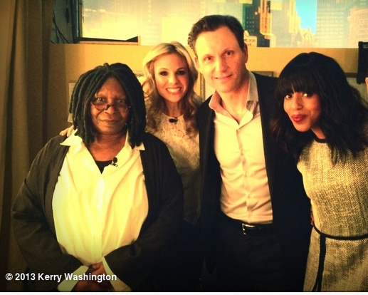 [Video] Kerry Washington & Tony Goldwyn Talk 'Scandal' On 'The View'