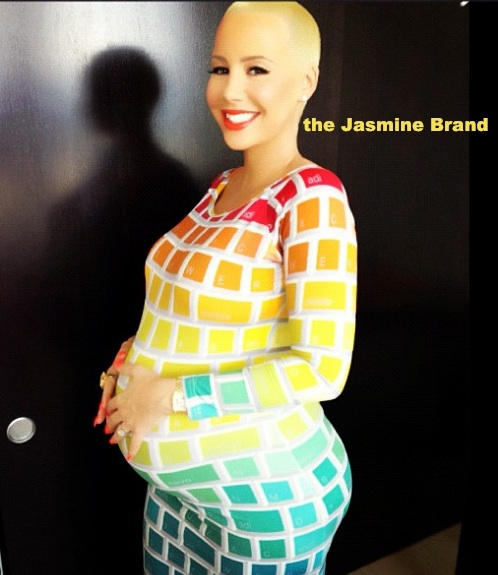 Amber Rose's Girlfriends Throw A Blue Themed Baby Shower