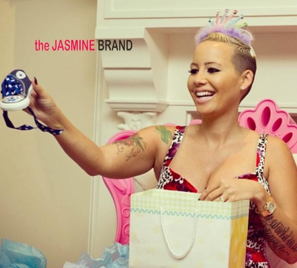 Wiz Khalifa's Mama Throws Amber Rose An 'East Coast Baby Shower'