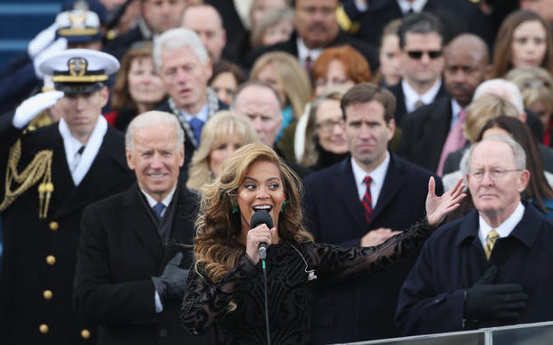 Confirmed: Beyonce Lip-Synced the Star-Spangled Banner at Inauguration