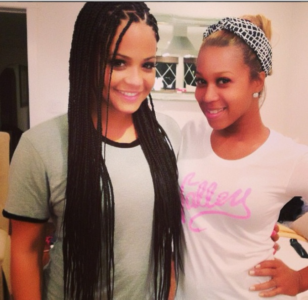 Christina Milian Debuts New Poetic Justice, Box Braids