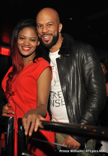 Common Is Smitten, Caught In ATL Club With Video Director Nzinga Stewart