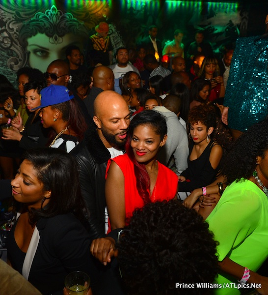 Rapper Common and Girlfriend