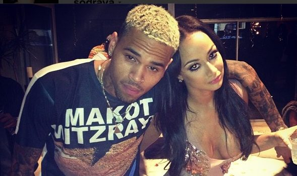 Rob Kardashian, Chris Brown, Karrueche Party for Reality Star Draya's B-Day