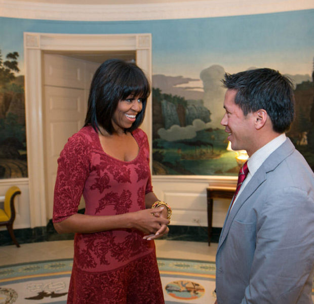 First Lady Michelle Obama Debuts Birthday Hair + Launches New Twitter