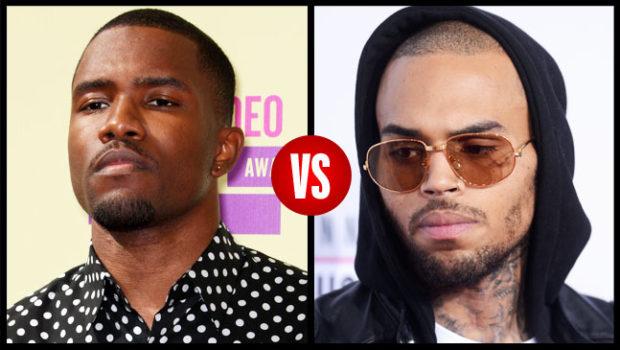 Chris Brown Insists He Didn't Start Frank Ocean Fight