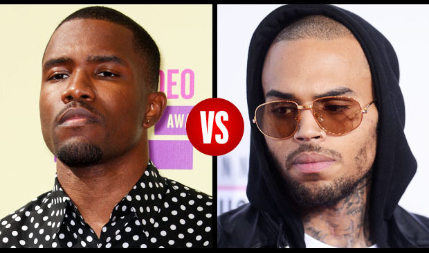 Chris Brown Insists He Didn't Start Frank Ocean Fight