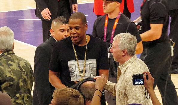 Jay-Z & Denzel Washington Trip-A-Referee + Karrueche Drops The N-Word