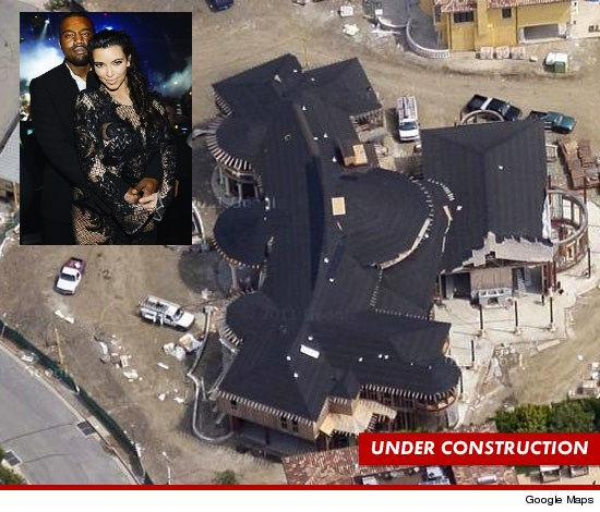 Kim Kardashian & Kanye West Prep for Baby, Buy $11 Million Dollar Home