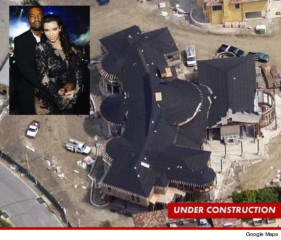 Kim Kardashian & Kanye West Prep for Baby, Buy $11 Million Dollar Home
