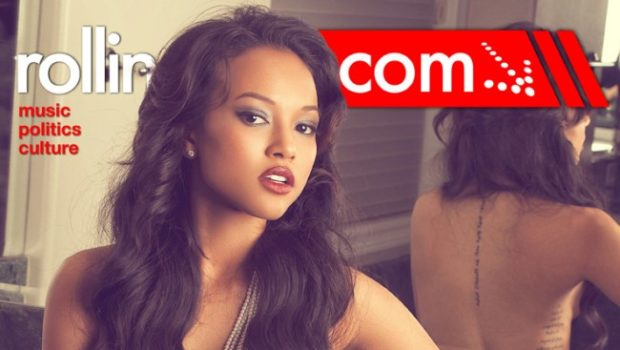 Karrueche Takes Her Clothes Off for 'Rolling Out', Comments on Rihanna's 'Birthday Cake' Diss