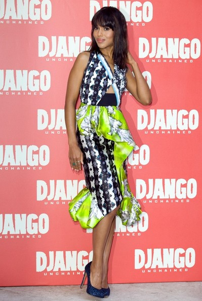 HAUTE or Hot A** Mess: Kerry Washington's 'Django' Publicity Dress