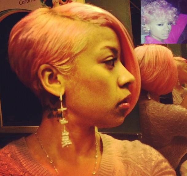 Keyshia Cole Goes Pink, Tiny Leaves the Box Braids Behind for 2013 + More Celeb Stalking