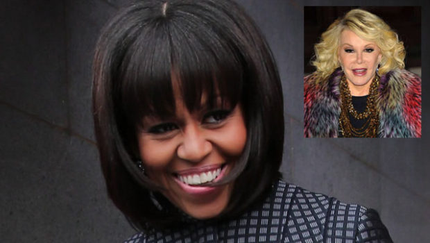 Shots Fired: Joan Rivers Hates Michelle Obama's Bangs