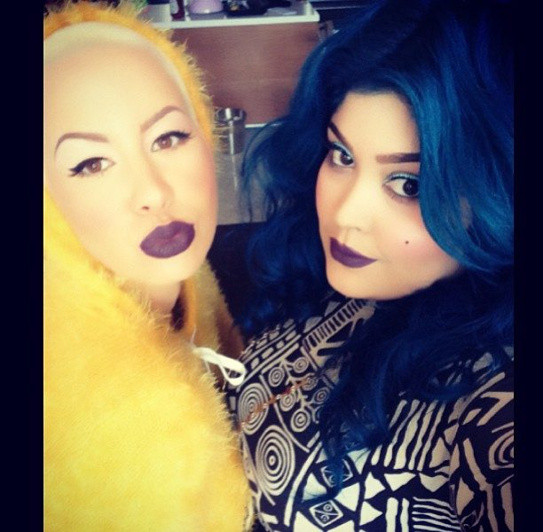 Who is Priscilla Ono: Meet Amber Rose's Blue Haired, MUA BFF