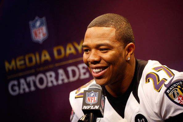 ray rice-super bowl XLVII media day 2013-the jasmine brand