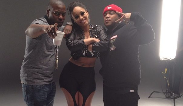 [Photos] Love Hip Hop's Tahiry Jones Shoots First Music Video