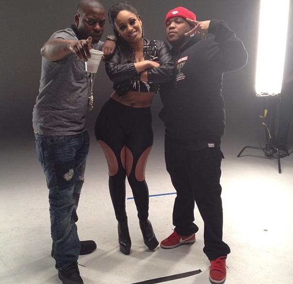 [Photos] Love Hip Hop's Tahiry Jones Shoots First Music Video