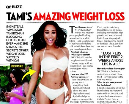 [Photo] Tami Roman Sheds 35 Pounds, Debuts Bikini Body
