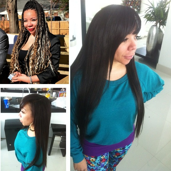 Pink, Tiny Leaves the Box Braids Behind for 2013 + More Celeb Stalking
