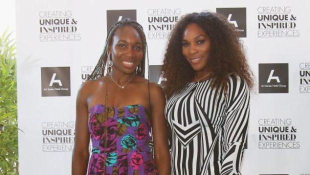 Venus Williams Remixes Hair, With Blue Box Braids + Battles Sister in Table Tennis