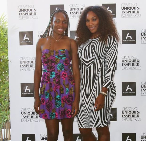 Venus Williams Remixes Hair, With Blue Box Braids + Battles Sister in Table Tennis