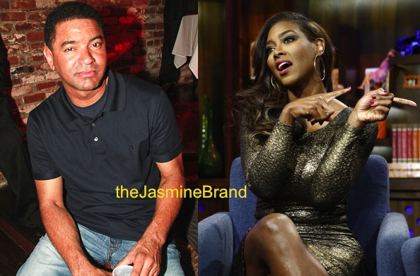 Walter Jackson Threatens to Expose RHOA's Kenya Moore to Andy Cohen