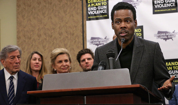 Chris Rock, Tony Bennett Hit Nation's Capital to Fight For Gun Control