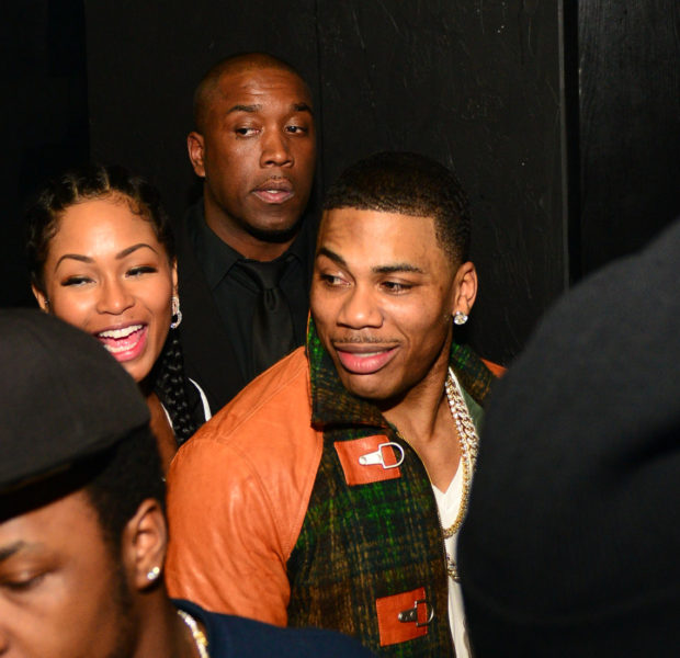 Nelly Officially Brings Out His New Girl, La'Shontae Heckard, to ATL Club