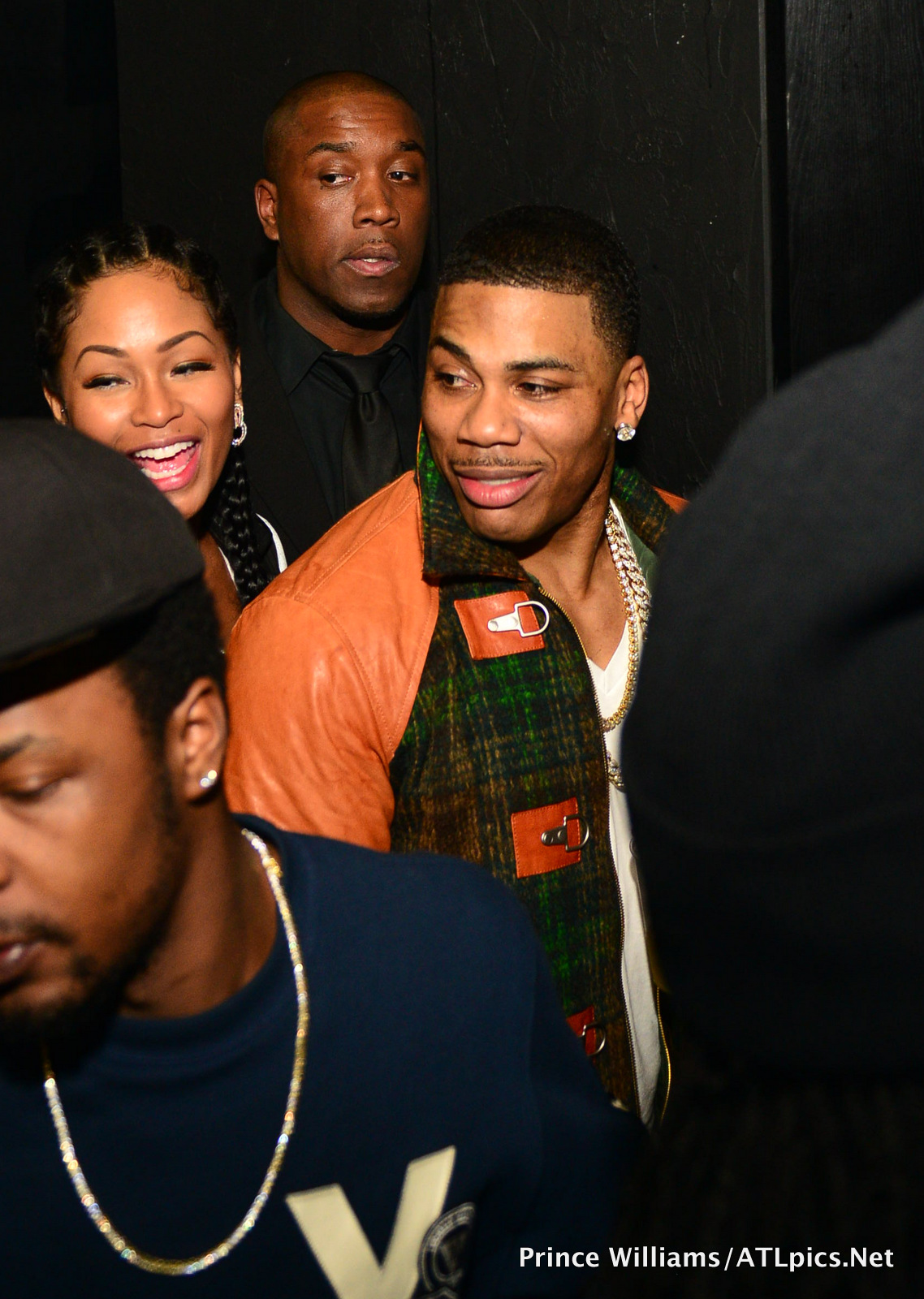 Nelly Officially Brings Out His New Girl, La'Shontae ...