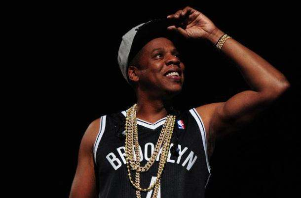 Jay Z at Barclays Center in Brooklyn-the jasmine brand