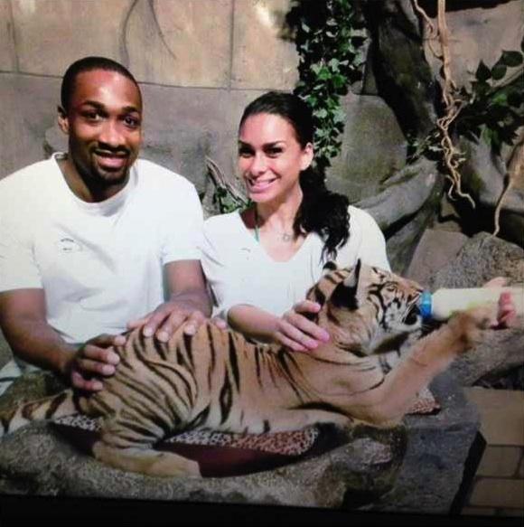 Basketball Wives' Laura Govan & NBA Hubby Pet Wild Animals, Zip-Line & Vacay in Thailand