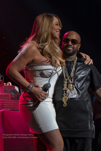 Mariah Carey-a-so so def 20th anniversary concert-the jasmine brand