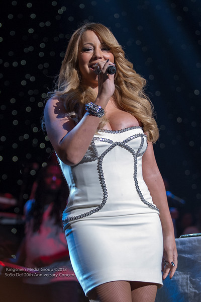 Mariah Carey-b-so so def 20th anniversary concert-the jasmine brand