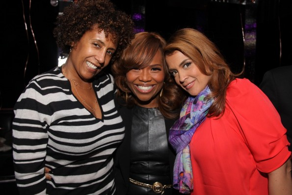 Rhonda Cowan, Mona Scott Young and Kim Osorio rszd