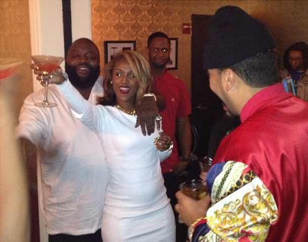 Rick Ross' Girlfriend, Shateria, Says 'Front Row' Was Initially A T-Shirt Line + Celebrates B-Day in Vegas