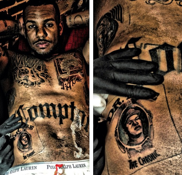 The Game Gets The Chronic Tatted On His Stomach + Joe Budden Gets Mushy Over Kaylin Garcia