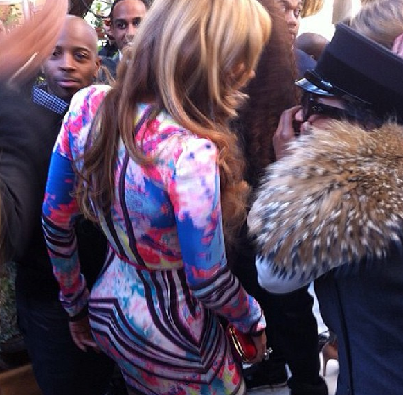 Beyonce Surprises Party Goers, Shows Up At Roc Nation Brunch
