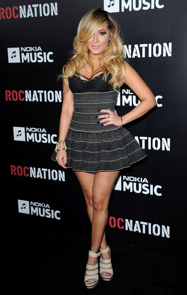 adrianne bailon-roc nation brunch 2013-the jasmine brand