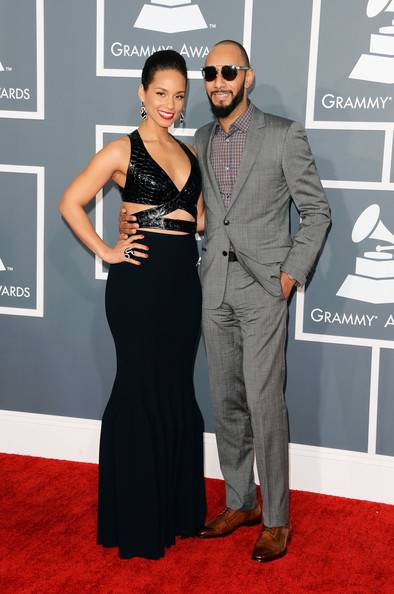 alicia keys-swizz beatz-55th grammy awards-the jasmine brand