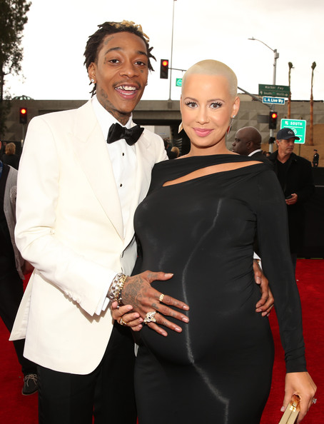 amber rose-wiz khalifa-55th annual grammy awards-the jasmine brand