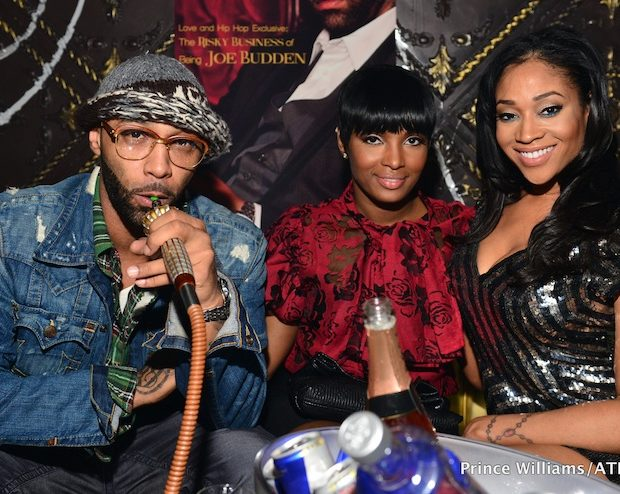 Joe Budden Throws ATL Album Release Party With Reality Friends, Hookah & Champagne