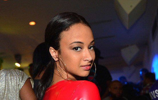 Stop & Stare: Reality Star Draya Goes ATL Clubbin' With Red Hot Cut-Out-Dress