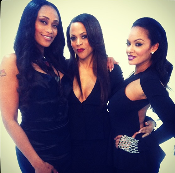 Evelyn Lozada Releases Basketball Wives Promo Pix + Cast Cat Fight Pops Off in LA Restaurant