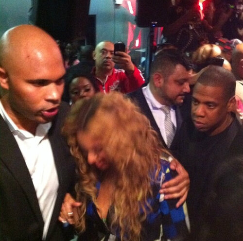 beyonce-jay z-body guard-michael jordan 50th birthday-b-the jasmine brand