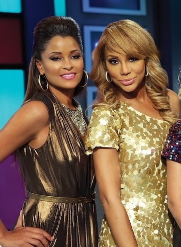 Off-Camera Tension Brewing Between TV Personalities Tamar Braxton & Claudia Jordan