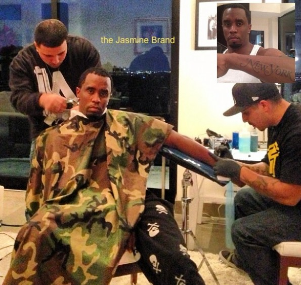 diddy-gets new york tattoo-a-the jasmine brand